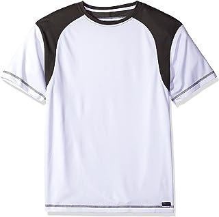Smith's Workwear Men's Performance Textured Shoulder Crew T-Shirt