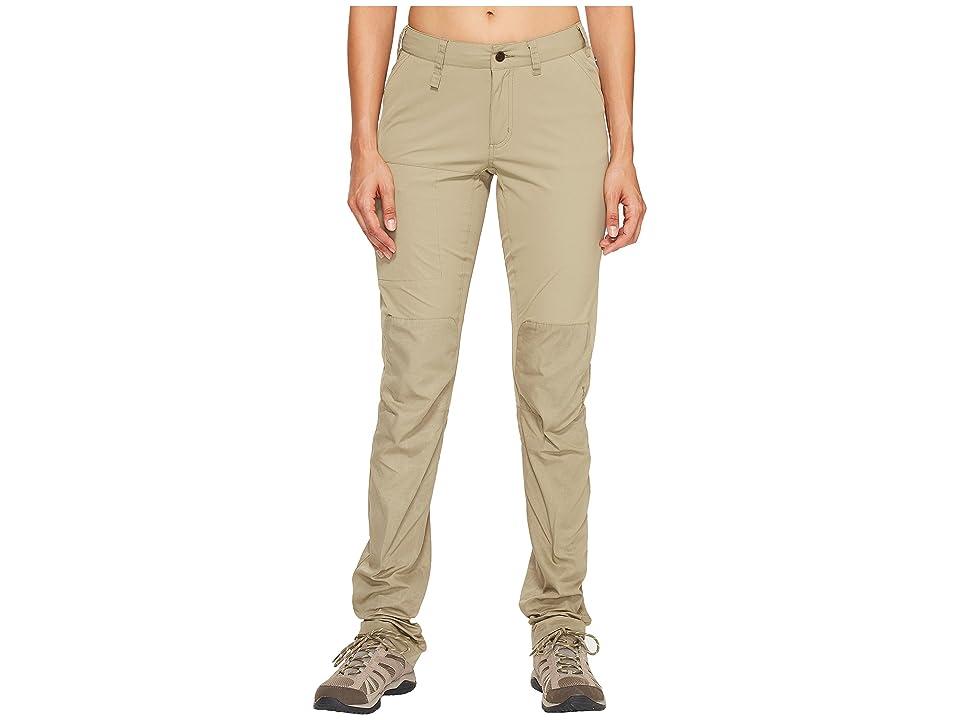 Fjallraven Abisko Lite Trousers (Savanna) Women