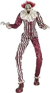 6.5 Ft Towering Creepy Clown Animatronic