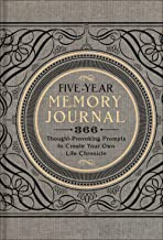 Five-Year Memory Journal: 366 Thought-Provoking Prompts to Create Your Own Life Chronicle (Gilded, Guided Journals)