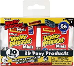 Wacky Packages Minis 10 pc Blind Box Series 1 Twin Pack, Multi (5201)