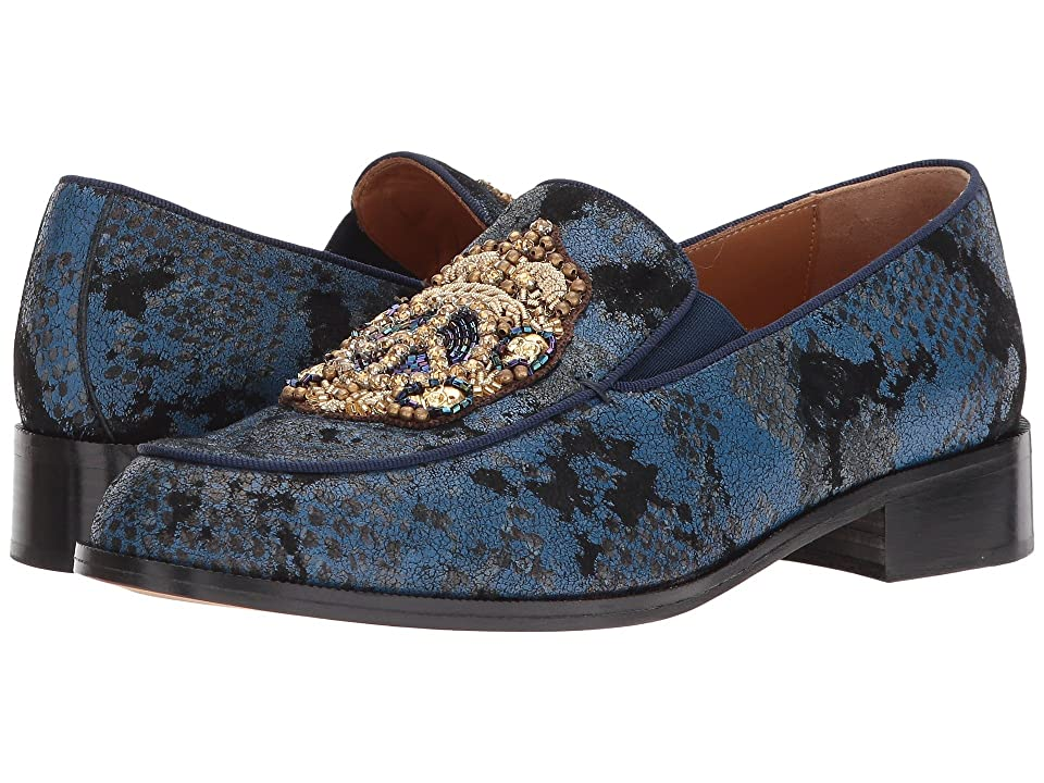 Right Bank Shoe Cotm Azusa Loafer (Blue) Women