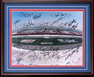 1997 California 500 Inaugural Race Autographed Framed 16x20 Photo