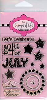 America 4th of July Stamps for Scrapbooking and Card-Making by The Stamps of Life - MiniStars4You Independence Day