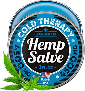 Sciatica Pain Relief Cream Salve - Provides Freeze Pain Relief - 4500 mg Hemp Cream - Made in USA - with Arnica and Menthol - Nerve Pain Relief for Back Pain, Neck Pain, Knee Pain, Foot Pain