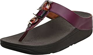 FitFlop Fino Marble Gem Womens Thong Sandals
