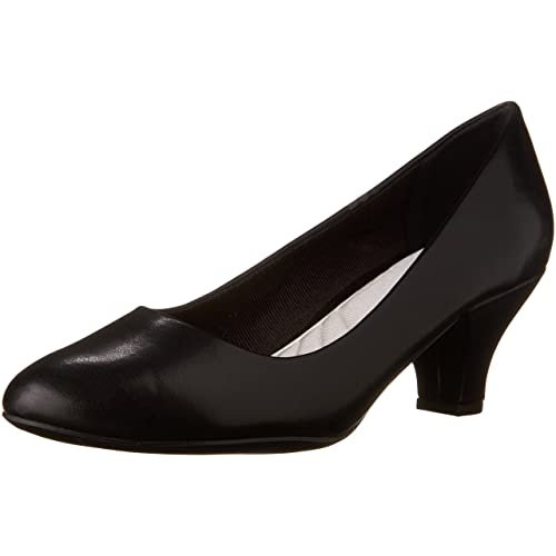 Women\u0027s Black Low Heel Pumps Amazon.com