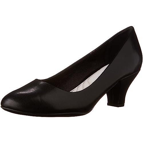 fcd1ac5b11a9 Women s Black Low Heel Pumps  Amazon.com