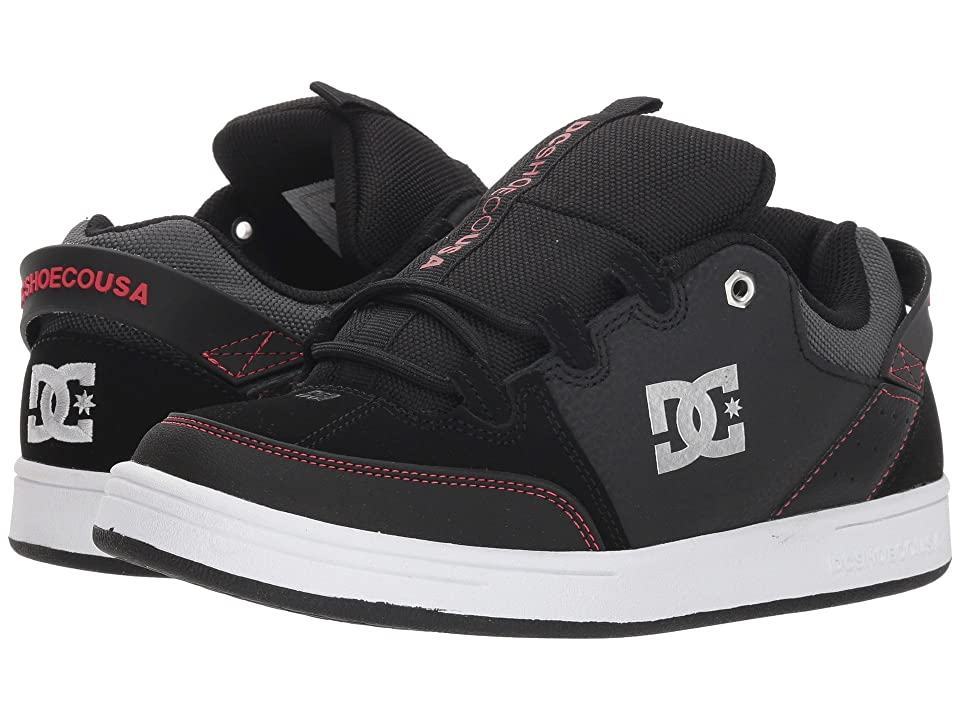 DC Kids Syntax (Little Kid/Big Kid) (Black/Red/White) Boys Shoes