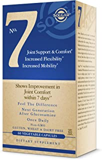 Solgar No. 7, 60 Vegetable Capsules - Joint Support & Comfort - Increased Mobility & Flexibility - Supplement for Men & Wo...