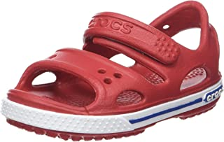 Crocs - Child's Sandal Red Leather 14854