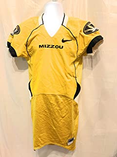 Missouri Tigers Authentic Game Team Issued NIKE Authentic On Field Jersey Size 40