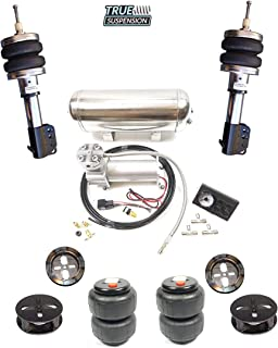 TS - Fits Ford Mustang S197 05-14 Car Complete Active Air Ride Suspension Kit