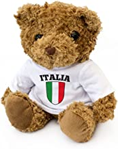 NEW - Italy Flag Teddy Bear - Cute And Cuddly - Italian Fan Gift Present Italia