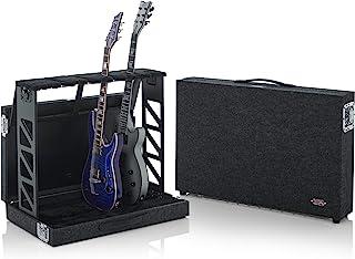 短吻鳄盒*多可容纳 4 个原声或电动紧凑型机架式支架,可折叠至箱子中(4 个吉他 (GTRSTD4)