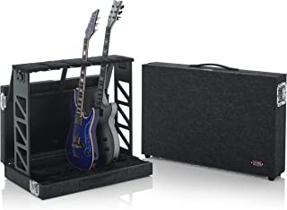 Gator Cases Compact Guitar Stand Case; Holds up to (4) Acoustic or Electric Guitars (GTRSTD4)