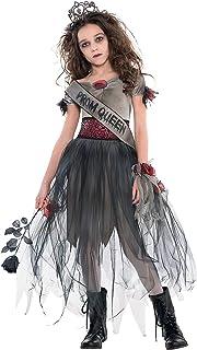 Amscan 842693 Prom Corpse Gown Costume, Children Medium Size, 1 Piece
