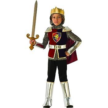 Rubies - Disfraz de caballero medieval para niño, talla 5-6 años ...