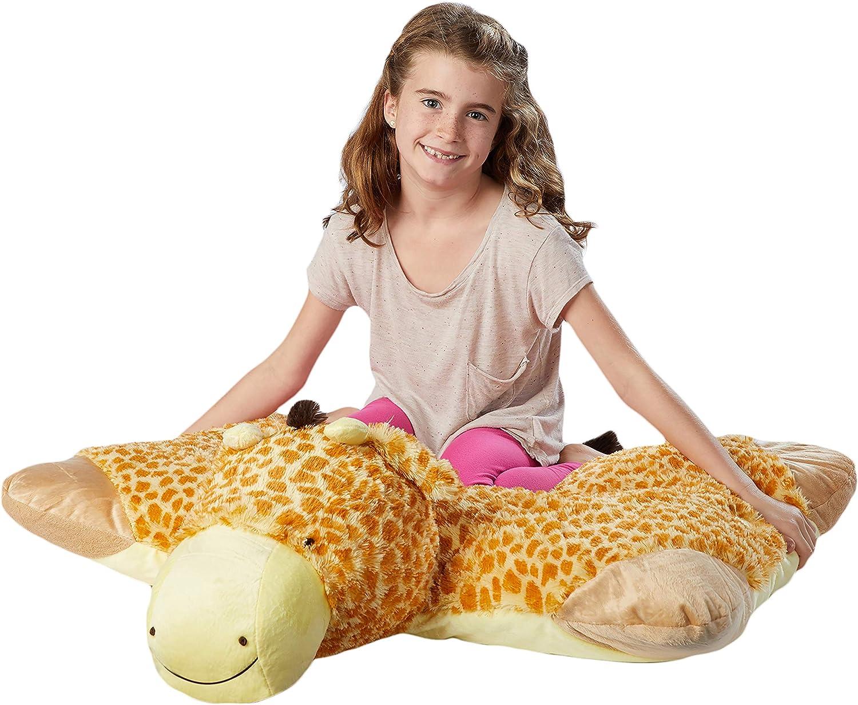 Pillow Pets Jumboz, Giraffe, 30  Jumbo Folding Plush Pillow