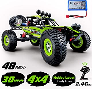 Gizmovine RTR Hobby Rc Cars 1:12 Scale Large Remote Control Car 2.4G 4WD High Speed 30 MPH+ Rc Trucks 4x4 Off Road Waterproof Toys (Rc car)