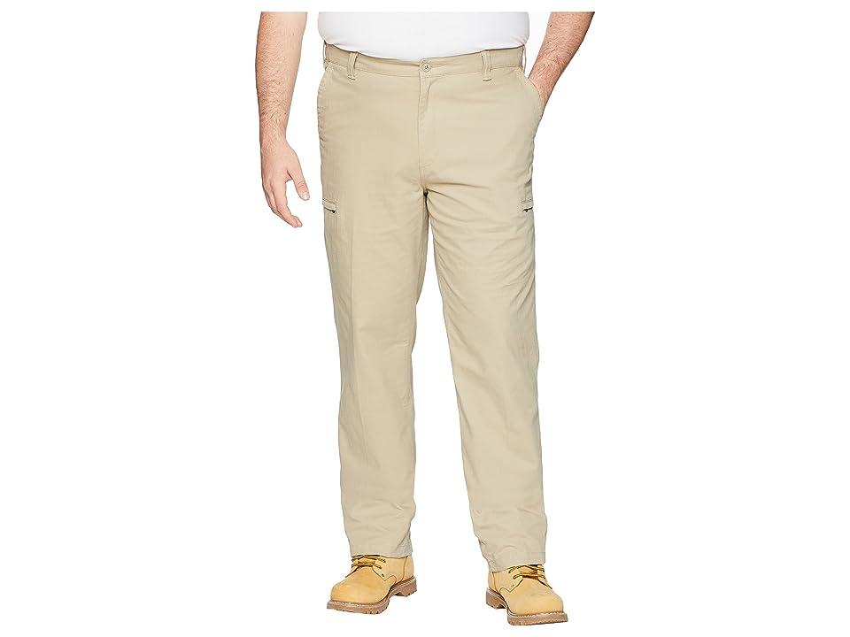 Dockers Big Tall Utility D3 Cargo Pants (Dockers Khaki) Men