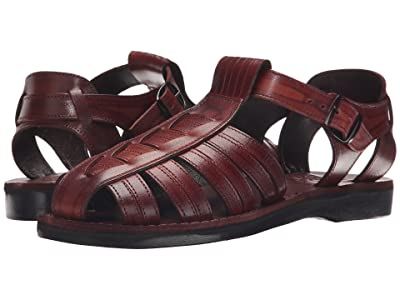 Jerusalem Sandals Barak Mens (Brown) Men