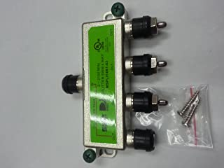 DirecTv MSPLIT4R1-03 Approved WNC 4-Way Wide Band SWM Splitter
