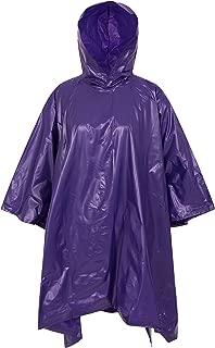 Mountain Warehouse Waterproof Poncho - Womens Autumn Rain Mac