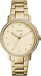 Best neely three-hand gold-tone stainless steel watch Reviews