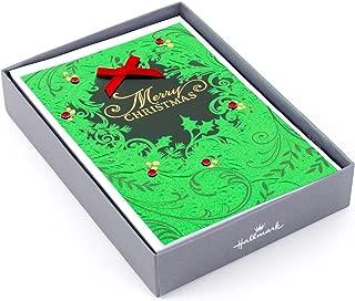 Hallmark Boxed Christmas Cards (Christmas Wreath, 12 Christmas Cards and 13 Envelopes)