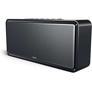 [Upgraded]Bluetooth Home Speakers, DOSS SoundBoxXL 32W Bluetooth Speaker, Louder Volume 20W Driver, DSP Bass Technology with 12W Subwoofer, Wireless Stereo Pairing, Speaker for Indoor, Outdoor Parties