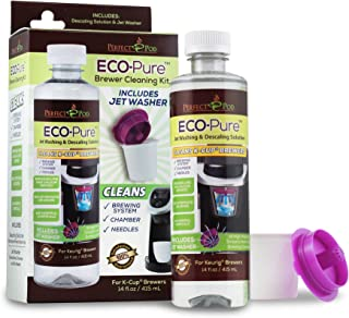 Perfect Pod ECO-Pure Single Serve Coffee Brewer Cleaning Kit Compatible