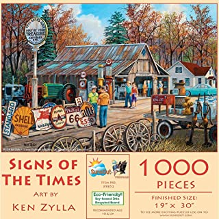 SUNSOUT INC Signs of The Times 1000 pc Jigsaw Puzzle