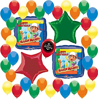 Combined Brands Handy Manny Party Supplies Birthday Balloon Decoration Bundle