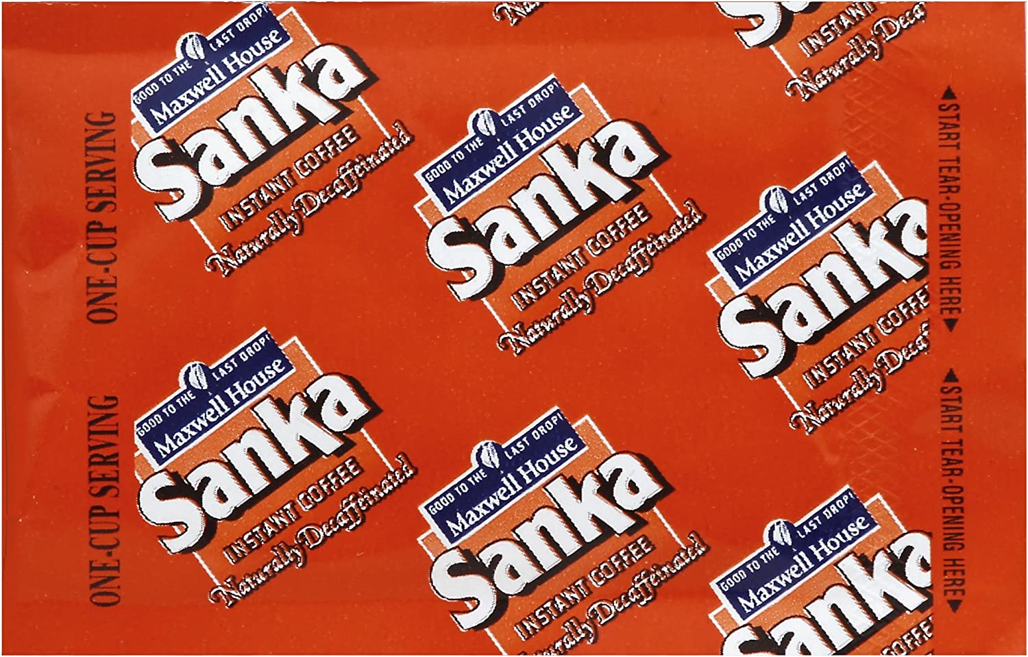 Sanka Decaf Single Serve Instant Coffee Blend (0.067oz Bags, Pack od 1000)