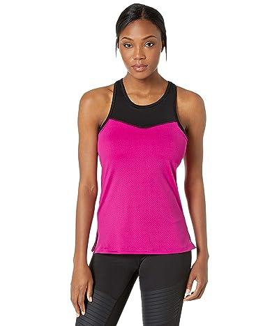 Skirt Sports Racecation Tank Top (Razz/Black) Women
