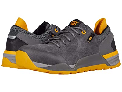 Caterpillar Sprint Suede Alloy Toe (Pewter) Men