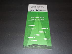 Sportsman Depth Finders Brochure Price Guide Ross Labs Unk Year 1960's?