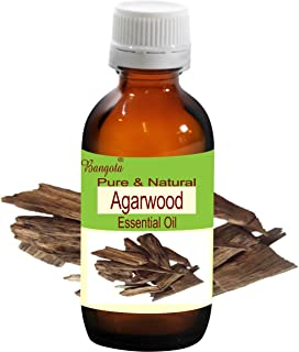 Agarwood Pure Natural Essential Oil Steam Distilled Aquilaria Agallocha (15 ml (0.50 Oz))