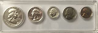 1957 P Silver US Proof Set Beautiful comes in hard plastic case and Gift Box Proof