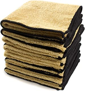 Zwipes Auto 891-4 Microfiber Leather Care and Vinyl Cloth, 8-Pack