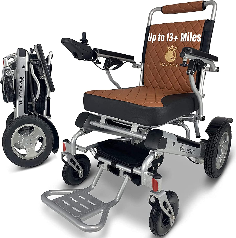 MALISA Electric Wheelchair Superlatite for Gorgeous Moto Portable Lightweight Adults