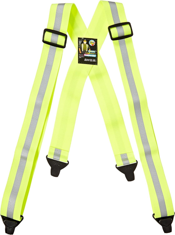 Mutual 14509 Reflective Elastic Adjustable Suspender, 50