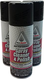 Honda 08732-SCP00x3 Spray Cleaner and Polish, 12 oz, 3 Cans