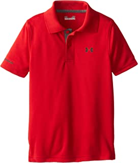 Boys' Ua Logo Short Sleeve Polo