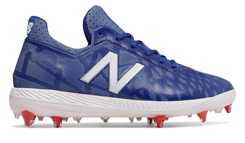 (ニューバランス) New Balance 靴?シューズ メンズ野球 NB COMP Blue with White and Red ブルー ホワイト レッド US 7.5 (25.5cm)