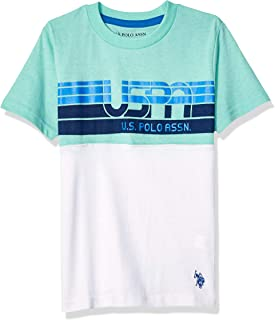 U.S. Polo Assn. Boys' Short Sleeve Graphic Print T-Shirt
