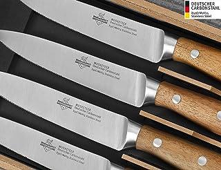 """Steakchamp Premium Steakmesser """"4 Musketeer"""", Deutscher"""
