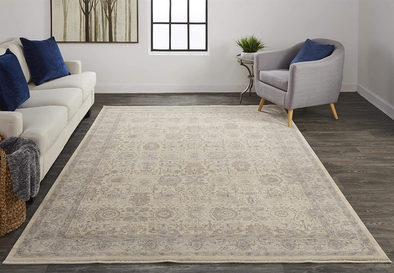 Feizy Rugs - Marquette Traditional Persian Max 49% OFF Beige Rug Warm Style Ranking TOP3