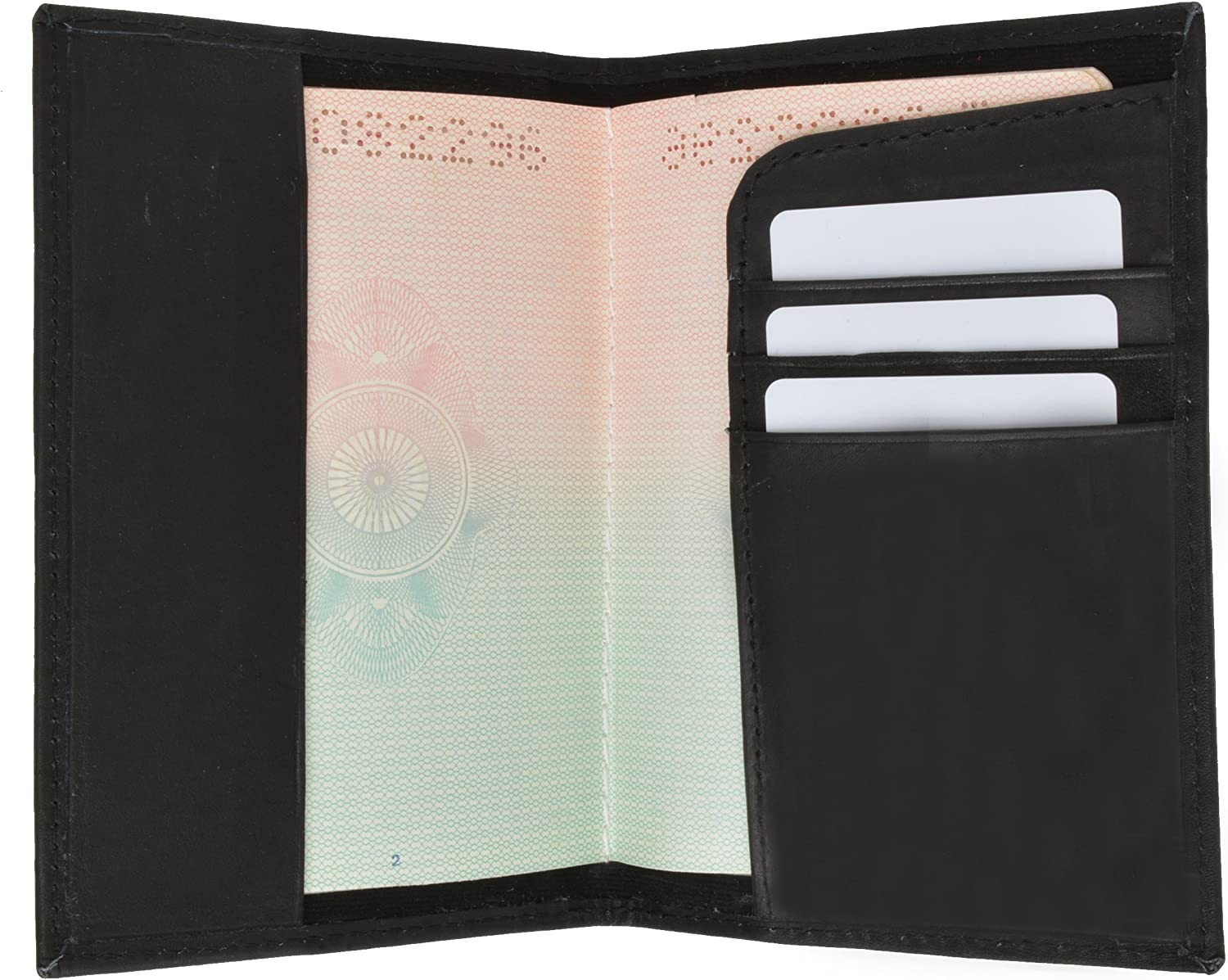 New Genuine Leather Sale item Passport Cover Purchase Gol Travel Wallet Case Holder